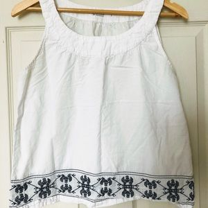 Carve Embroidered Tank